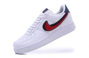 nike air force 1 amazon 07 lv8 white blue void university red